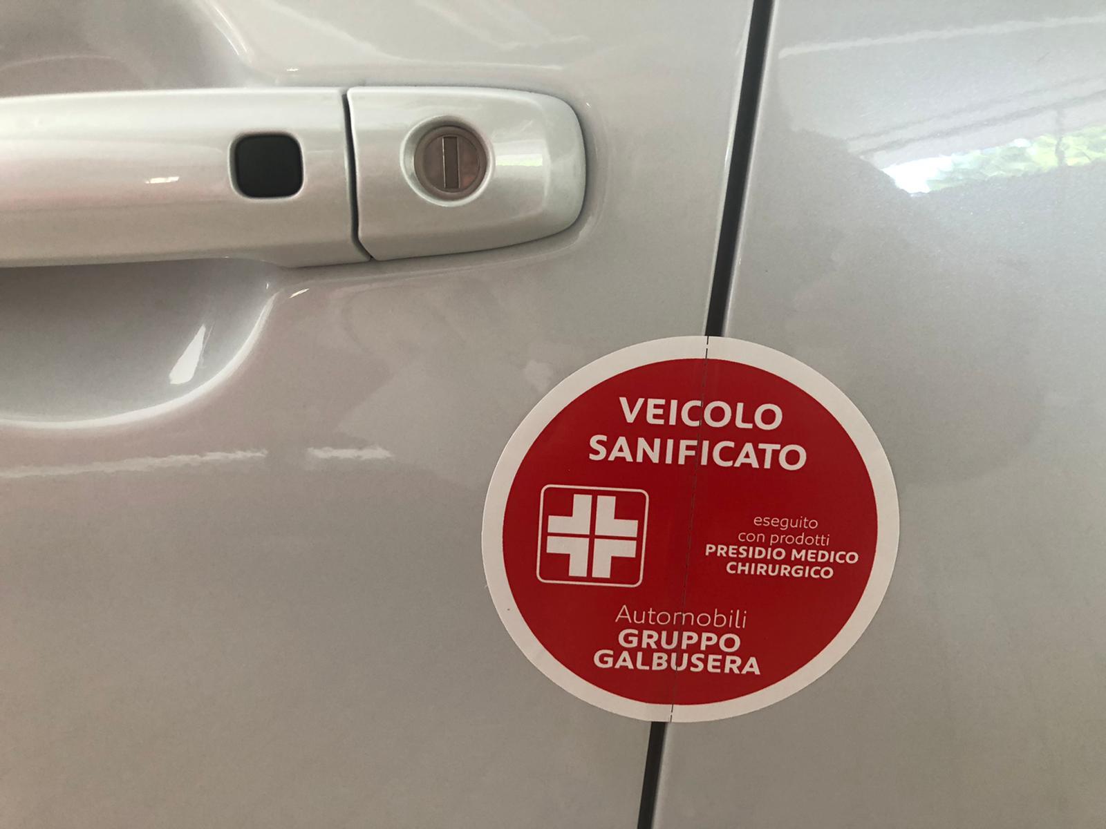 Sanificazione Europea Auto