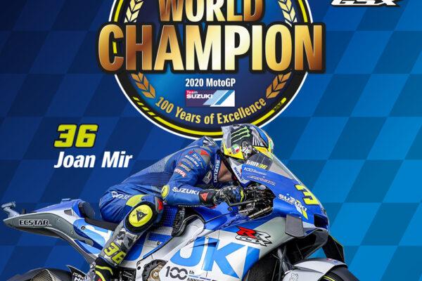 Joan Mir è Campione del Mondo MotoGP 2020