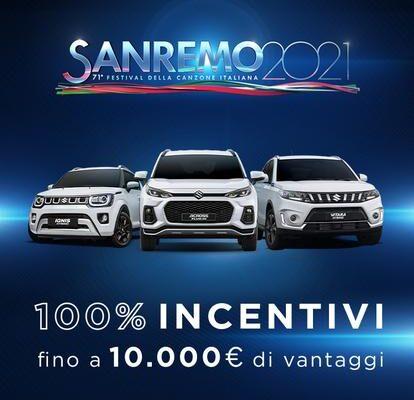 Il Festival di Sanremo 2021 Sceglie Suzuki e La Sua Tecnologia Hybrid
